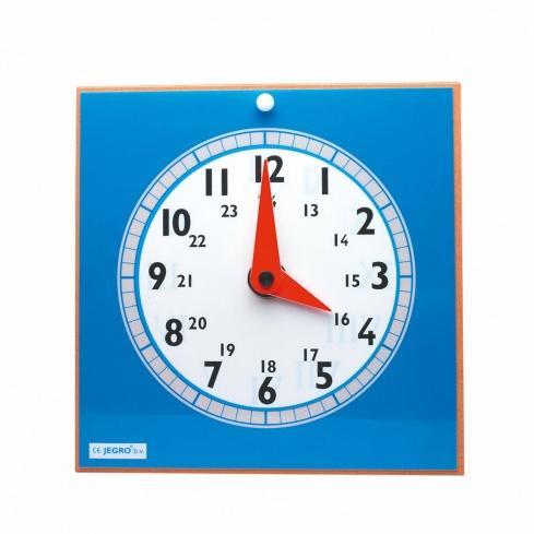 Clock with transparencies teacher