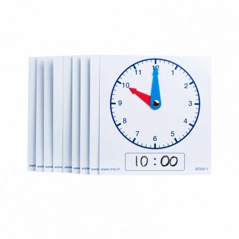Clocks 12 hours pupils
