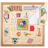 Spider sorting puzzle - shapes