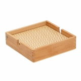 Bead board wood - square with box