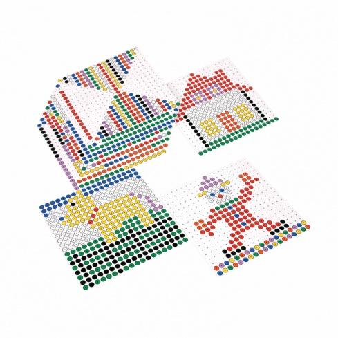 Kralo pattern cards square
