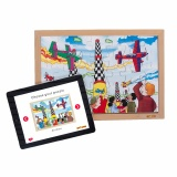 Power puzzles - Air show (35 pcs)