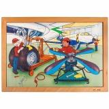 Technique puzzle - airdock (24 pieces)