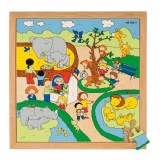 Recreation puzzles - zoo