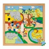 Recreation puzzles - zoo