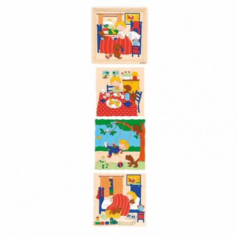Layer puzzle daily rhythm