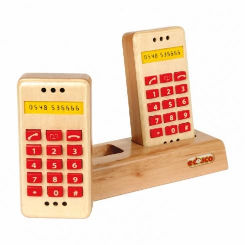 Push button telephone