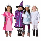 Dress up clothes Girl - Set Of 4