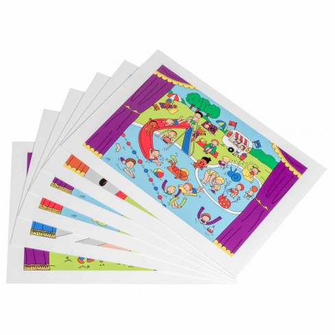 Story sheets - for the Puppet story theatre