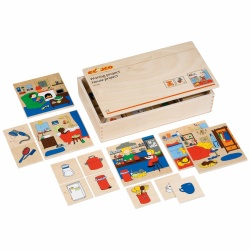 Loto 2 association de couleurs montessori spirit for Association travaux maison