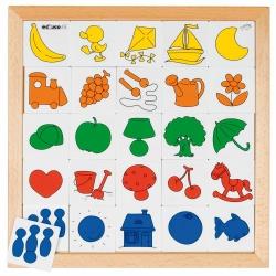 Loto 2 - association de couleurs
