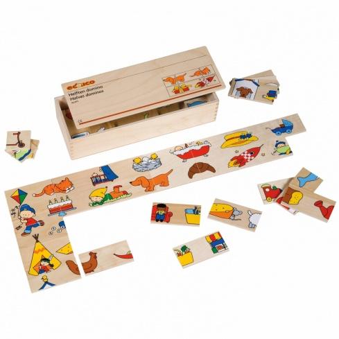 Matching dominoes
