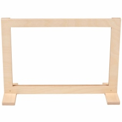 Extra wooden frame