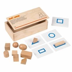 Boîte tactile : formes géométriques