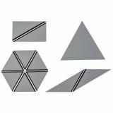 Ensemble des triangles constructeurs : gris