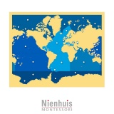 Carte des Mers et Océans