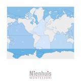 Carte de contrôle mers et océans (anglais)