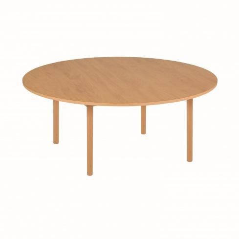 Table de groupe ronde A1 - 115 x 46 cm