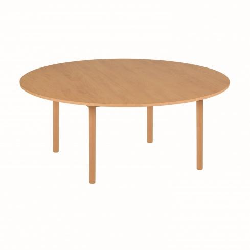 Table de groupe ronde B2 - 115 x 53 cm