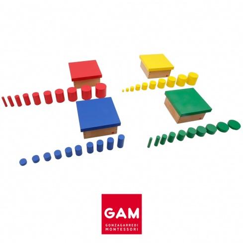 Ensemble des cylindres de couleur
