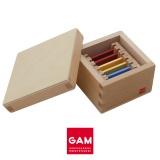 Première boite des tablettes de couleur