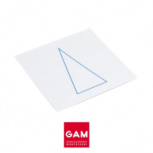 Cartes des solides géométriques