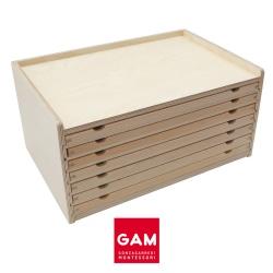 Cabinet de géométrie/botanique (vide)