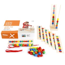Sort the beads