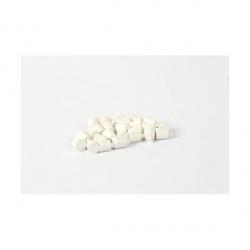 Bouton de préhension blanc (x 25)