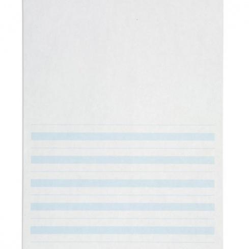 Papier écriture ligne bleue x500
