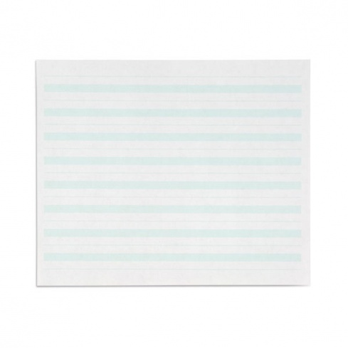 Papier écriture ligne verte x 500
