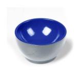 Coupelle en bois Gris/Bleu