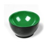 Coupelle en bois Noir/Vert
