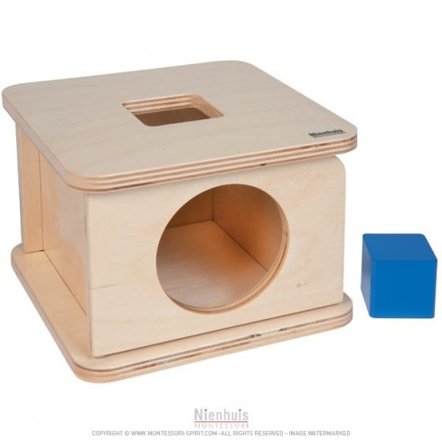 Boite à forme : cube