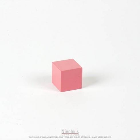 Cube tour rose 3 cm