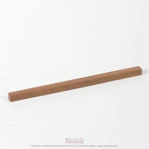 Prisme escalier marron clair 20 x 1 x 1