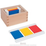 Première boite des tablettes de couleurs