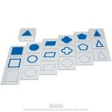 Cartes des formes géométriques