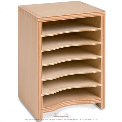 Cabinet pour cartes des formes géométriques