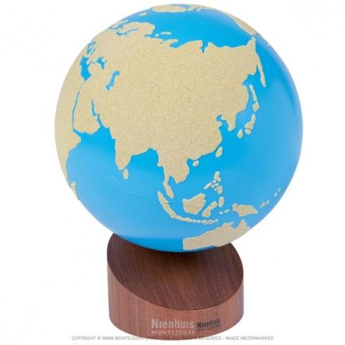 Globe lisse et rugueux