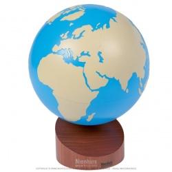 Globe des parties du monde