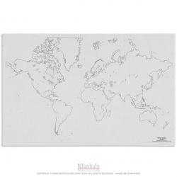 Silhouette du monde x50