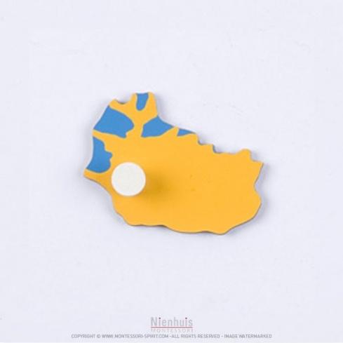 Pièce puzzle de l'Europe : Islande