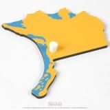 Pièce puzzle d'Amérique du Nord : Alaska