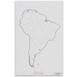 Cours d'eau d'Amérique du Sud x50