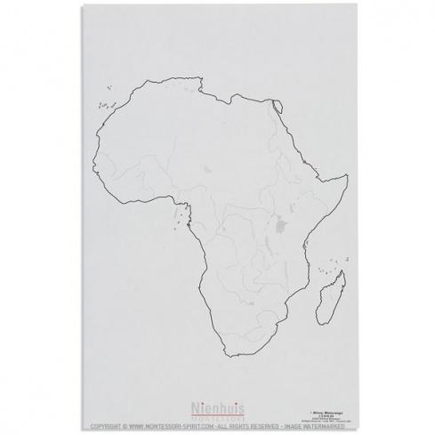 Cours d'eau de l'Afrique x50