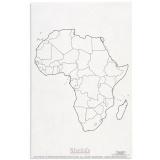 Carte des états de l'Afrique x50