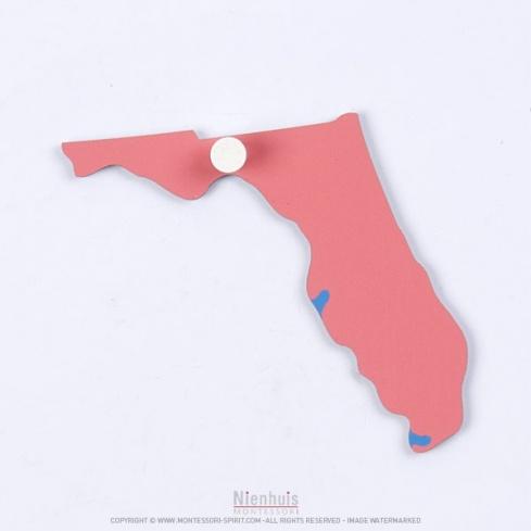 Pièce puzzle des Etats-Unis : Floride