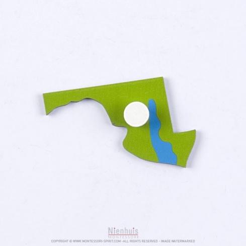 Pièce puzzle des Etats-Unis : Maryland