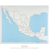 Carte de contrôle muette du Mexique